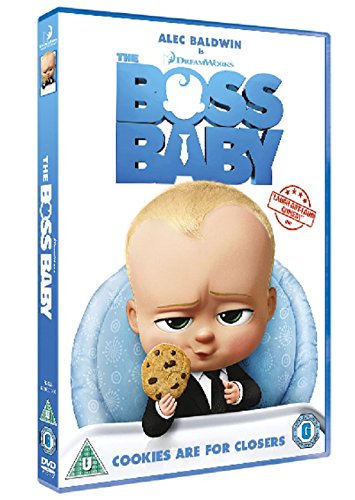 The Boss Baby [DVD] [2017]: Amazon co uk: Tom McGrath
