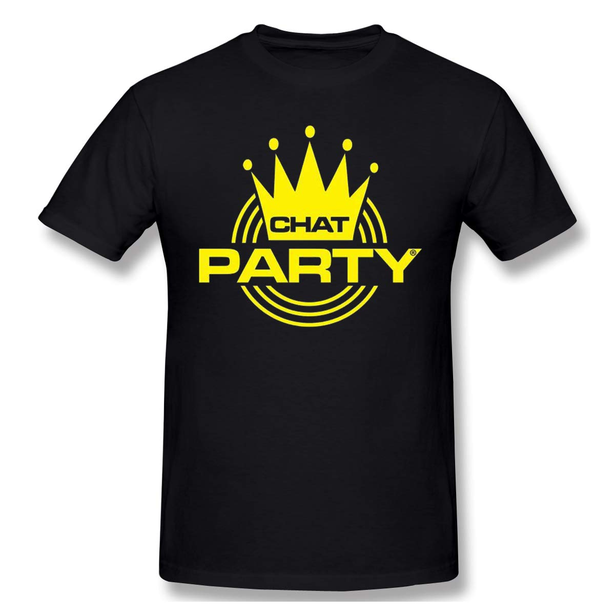 Chatparty Cool Black With Short Sleeve Shirts