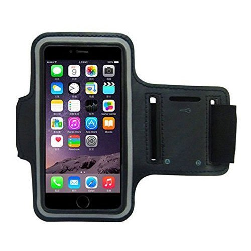 quality design ee31c c25af Cantop iPhone 6 Armband for Running, Sport Exercise Gym Arm band Sleeve  Case for iPhone 6 (4.7-inch) Water Resistant + Sweat Proof + Key Holder +  ...