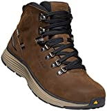 KEEN Utility - Men's Manchester 6'' WP (Soft Toe) Waterproof Work Boot for Maintenance, Transportation, Warehouse and Distribution, Cascade Brown/Brindle, 12D M US