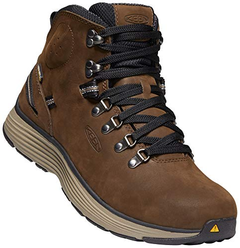 (KEEN Utility - Men's Manchester 6'' WP (Soft Toe) Waterproof Work Boot for Maintenance, Transportation, Warehouse and Distribution, Cascade Brown/Brindle, 12D M US)