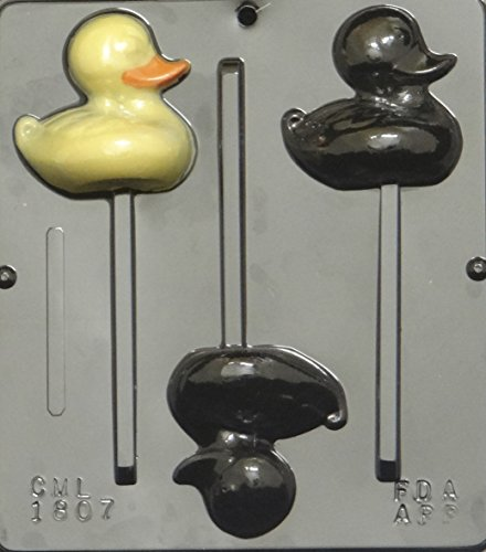 Duck Lollipop  Chocolate Candy Mold Easter 1807