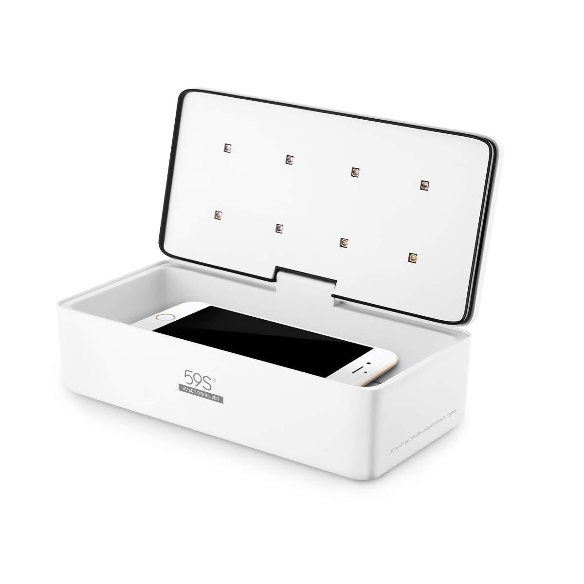 Esterilizador UV portátil para smartphones (iPhone y Android)
