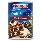 Princes Fruit Filling Black Cherry (410g) - Pack of 2