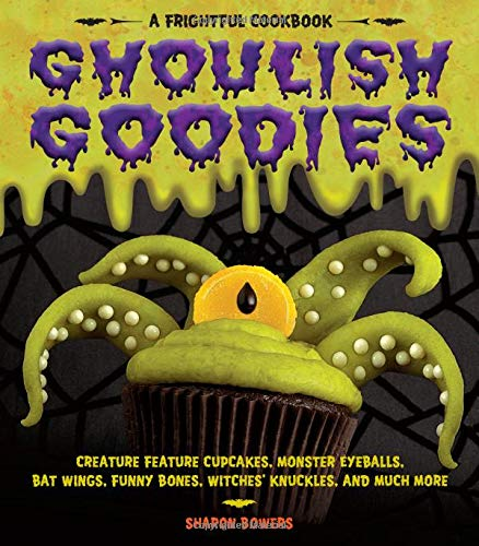 Halloween Popcorn White Chocolate (Ghoulish Goodies: Creature Feature Cupcakes, Monster Eyeballs, Bat Wings, Funny Bones, Witches' Knuckles, and Much)