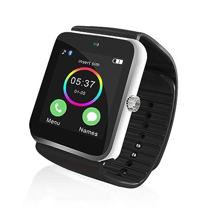 Amazon.com: Cuiron GT08 SmartWatch & Phone (2-in-1 ...