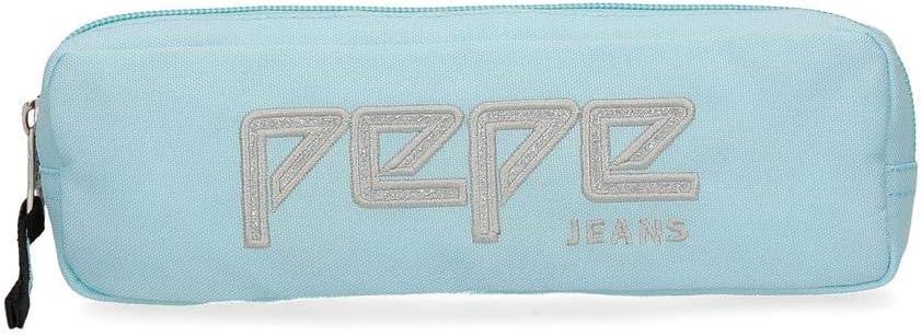 Estuche Pepe Jeans Uma azul celeste: Amazon.es: Equipaje