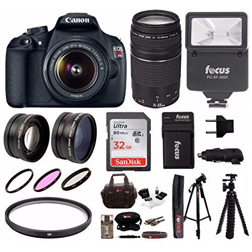 Canon 18 55mm 75 300mm Telephoto Accessory