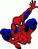 """valstick Spider Man Cartoon Car Bumper Sticker Decal 4""""x 5"""""""