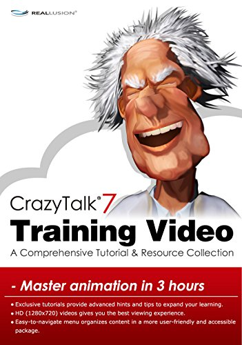 CrazyTalk7 Training Video - Win [Download] by Reallusion
