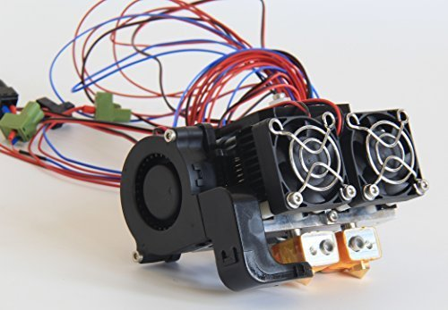 Fully Assembled Dual Extruders for Flashforge Creator and Creator Pro 3D Printers