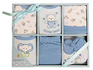 b41948942ba Amazon.com  Big Oshi Baby 6 Piece Gift Set  Onesie