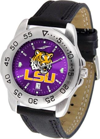 Linkswalker Mens Lsu Tigers Sport Anochrome Watch