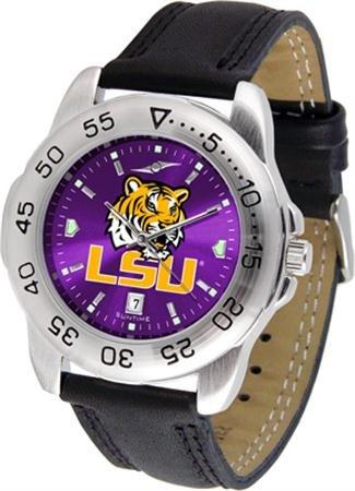 Sport Steel Watch Tigers State (Linkswalker Mens Lsu Tigers Sport Anochrome Watch)