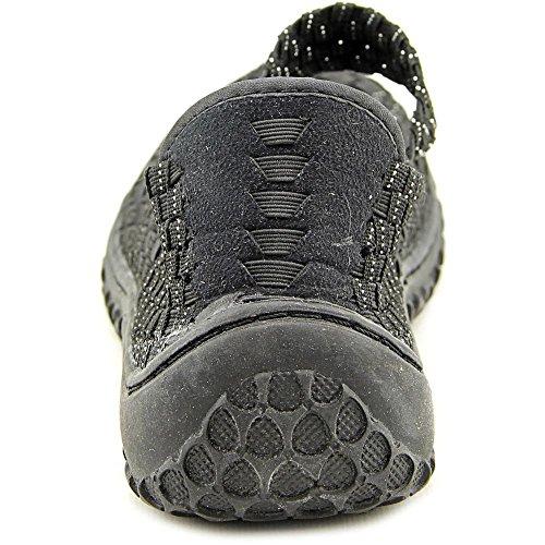 Corkys Womens Liz Mode Tissés Appartements Chaussures Noir