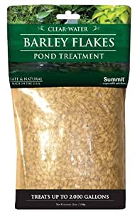 Summit Chemical Co 1150 Clear-Water Barley Flakes Pond Treatment, Treats upto 1000-Gallons