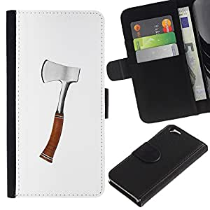 ZCell / Apple Iphone 6 / Axe Silver Wood Work Forest Tool Cut / Caso Shell Armor Funda Case Cover Wallet / Axe Plata Madera Trabajo Bosque Herra
