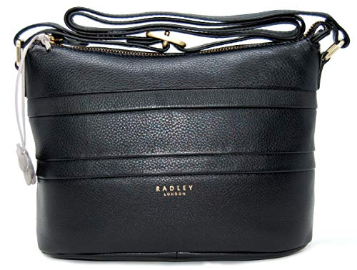 Across 'Berwick Leather Black Body Top Bag Zip Street' Radley HExqgwPfg