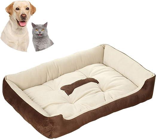 Galaxer Cama para Perros, Perro Gato 90*70 cm Mascota Colchón ...