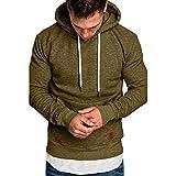 Miskay Men's Autumn Winter Fashion Causal Sweatshirt Hoodies Top Blouse Tracksuits