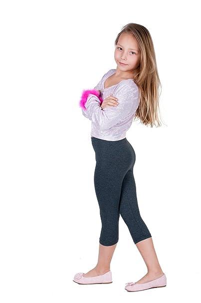 b7c74e986 Jandaz Las niñas algodón pirata o ciclismo pantalones cortos Leggings  tamaños 3 años – 12 años amplio abanico de colores