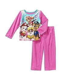 Nickelodeon Paw Patrol Girls Skye Flannel Sleepwear Pajama Pant Set (18 Months)