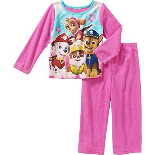 Price comparison product image Paw Patrol Nickelodeon Girls Skye Flannel Sleepwear Pajama Pant Set (18 Months)