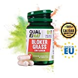 Captagrasas Bloker Grass - Capta grasas para el control de peso de manera natural - Complemento alimenticio para adelgazar si se acompaña de una dieta saludable - 30 cápsulas