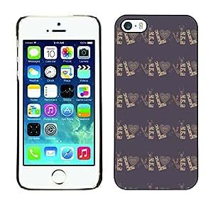 ZECASE Funda Carcasa Tapa Case Cover Para Apple iPhone 5 / 5S No.0004303
