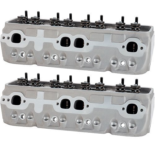 Brodix Cylinder Heads 1021001 IK200 S/P Assembled Cylinder Head for Small Block Chevy - Pair