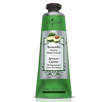 difeel therapeu Mesas Crema de manos con Vitamina E y aguacate 40 ml (Pack de
