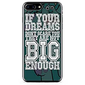 loud universe Sully Quote iPhone 8 Plus Case monsters Inc iPhone 8 Plus Cover with Transparent Edges