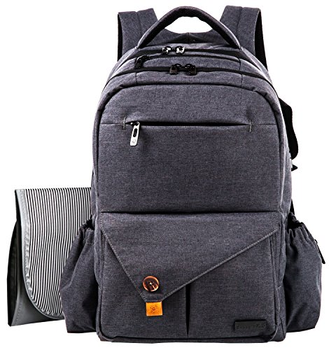 free shipping haptim multi function large baby diaper bag backpack w stroller straps insulated. Black Bedroom Furniture Sets. Home Design Ideas