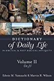 Dictionary of Daily Life in Biblical and Post-Biblical Antiquity: de - H