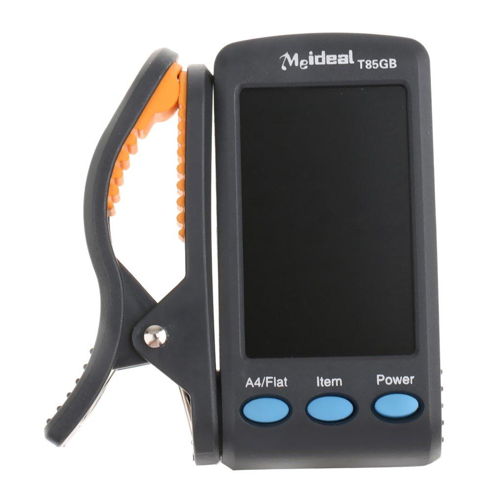 Clip de Múltiples Funciones Sintonizador LCD para Guitarra y Bajo Llave Instrumento C T85gb Generic STK0157011973