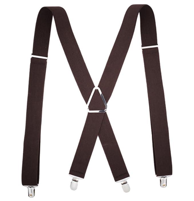 UMEE Tirantes Pantalones Elásticos Traje De Escena Ropa Para Hombre Mujer Unisex Longitud Ajustable GT1FqLJ