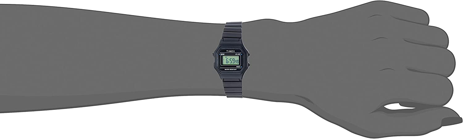 Timex Women's Classic Digital Mini Watch Black