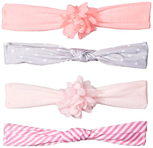 Printed Soft Jersey and Solid Chiffon Head-wraps for Infants and - Chiffon Headwrap
