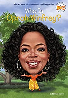 Book Cover: Who Is Oprah Winfrey?