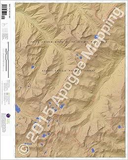 Mount McGuire, Idaho 7.5 Minute Topographic Map - Waterproof Paper ...