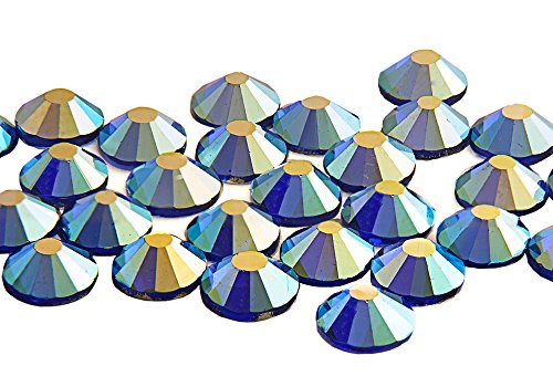 Hot EIMASS Glass Fix Rhinestones Flat x Sapphire Crystals Non Back 1440 Ab qwBg6pxX