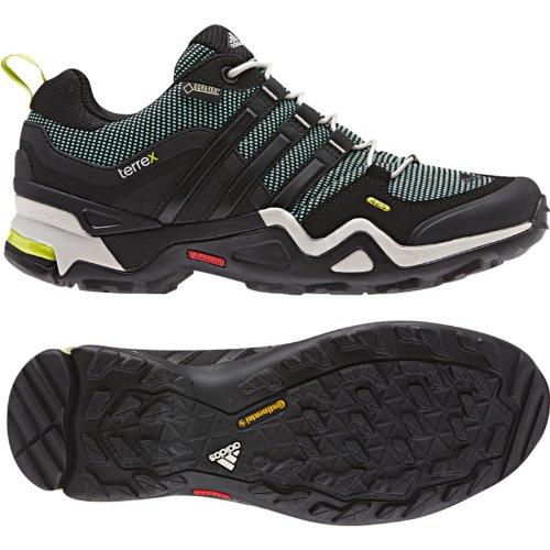 adidas Outdoor Terrex Fast X GTX–Botas de senderismo de la mujer Bahia Mint / Black / Bahia Glow