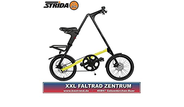 SX STRIDA color amarillo neon cityfolder 45,72 cm 9,5 kg: Amazon.es: Deportes y aire libre