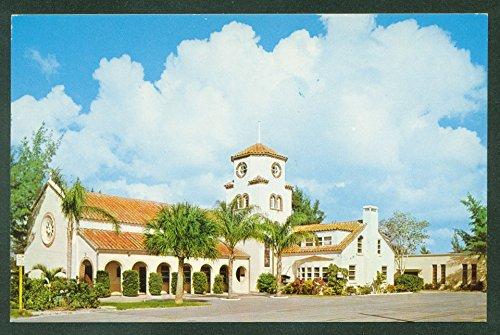 - Church By The Sea Congregational MADEIRA BEACH FL Florida Vintage Postcard