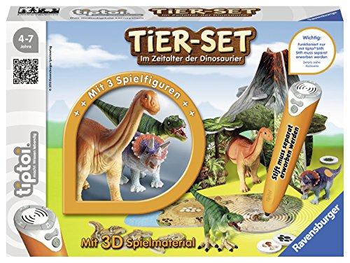 Ravensburger tiptoi 00746 - Tier Set Im Zeitalter der Dinosaurier