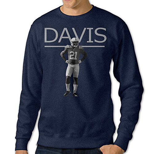 ReBorn Men's Crewneck Vontae Colts Davis Long Sleeve Tee Navy L for $<!--$32.17-->