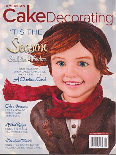 American Cake Decorating Magazine December 2017
