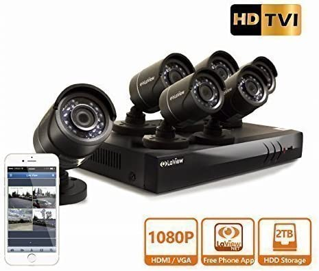 LaView HD DVR 8 Channel 1080P Surveillance System