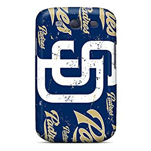 New San Diego Padres Tpu Skin Case Compatible With Galaxy S3