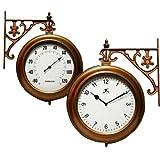 Copper Climate Indoor/Outdoor Wall Clock